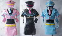 2016 Japanese Anime Nitro Super Sonic Super Sonico Space Police Cosplay Costume Faux Leather Cosplay Dress