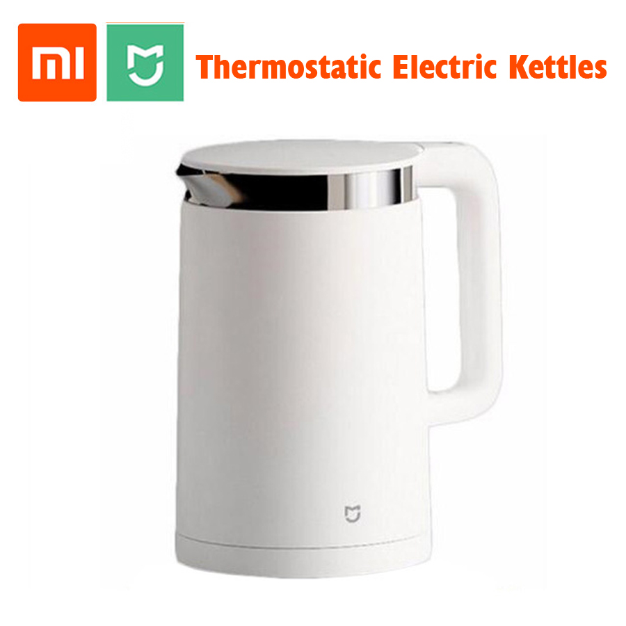 In Stock Original Xiaomi Mijia Thermostatic Electric Kettles 1 5L 12 Hours  Thermostat kettle Smart Control by Mobile Phone App