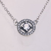 ENDELI Wholesale Fashion Jewelry Jewelry 100 925 Sterling Silver Fit Pandora Necklace Women Charm Beads Name