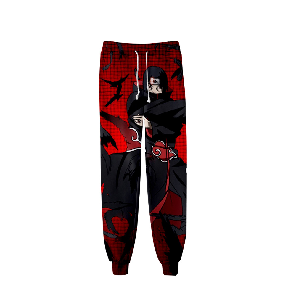 NARUTO 3D Printed Jogger Pants 2019 Fashion Streetwear Sweatpants Popular Anime New Style Casual Long Pants XXS-4XL