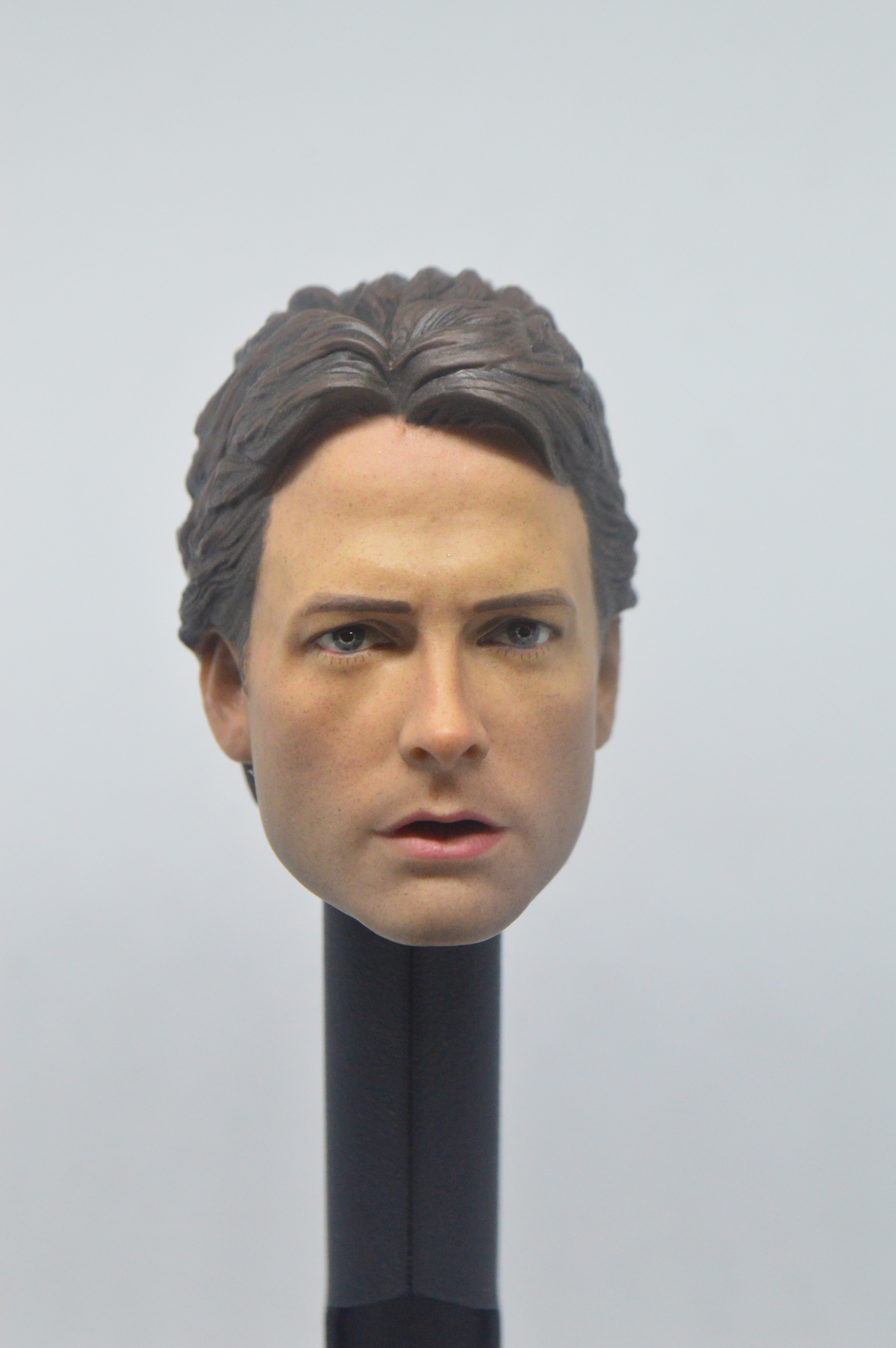 1//6 The Winter Soldier Bucky Head Sculpt For Hot Toys PHICEN Male Figure U.S.A.
