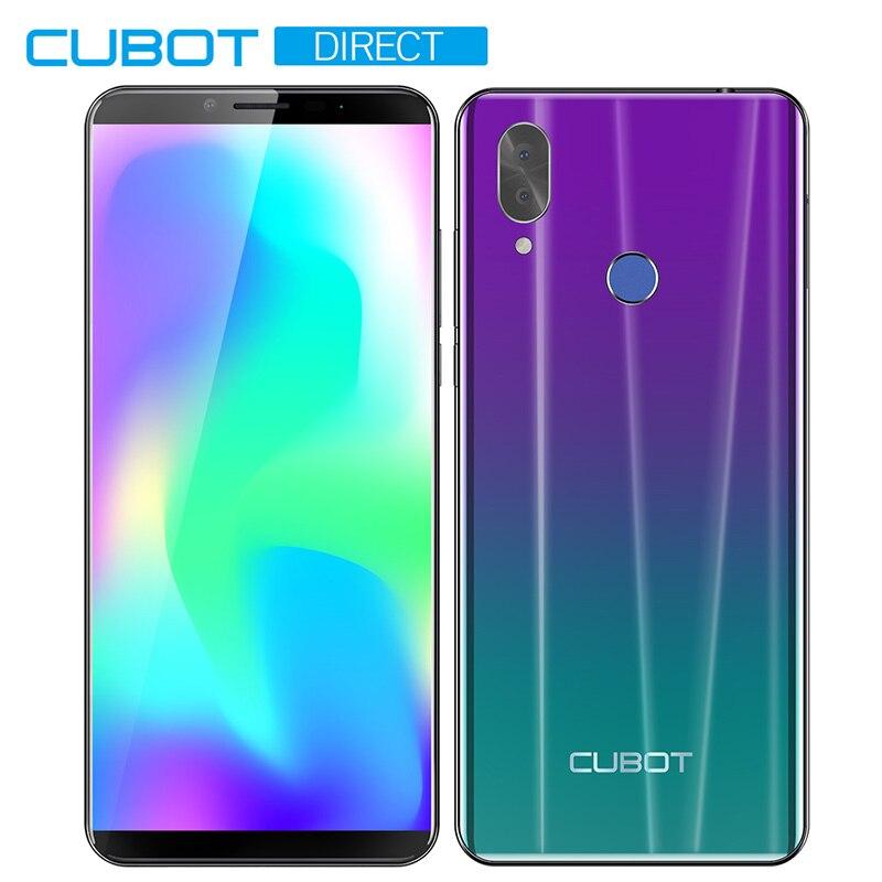 """Cubot X19 смартфон Helio P23 Восьмиядерный 5,9"""" 2160*1080 FHD+ дисплей 4000 мАч 4 Гб+ 64 Гб Face ID type-C сумеречный градиент цвета Телефон - Цвет: Gradient"""