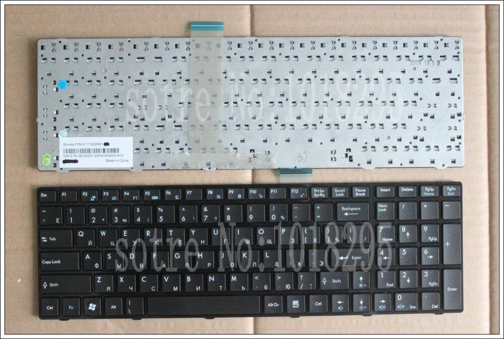 RUSSIA Laptop keyboard for MSI A6203 A6300 A6500 A7200 CR630 CR650 CR720 CX620 CX620MX CX623 CX705 CX705MX RU BLACK