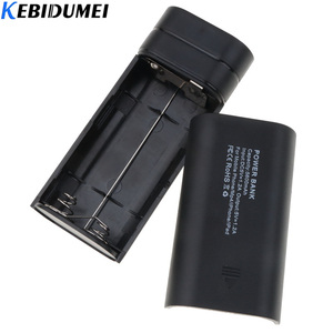 Image 4 - Kebidumei 2X 18650 USB Power Bank Ladegerät Fall DIY Box für telefon poverbank Für iPhone tragbare lade Externe Batterie