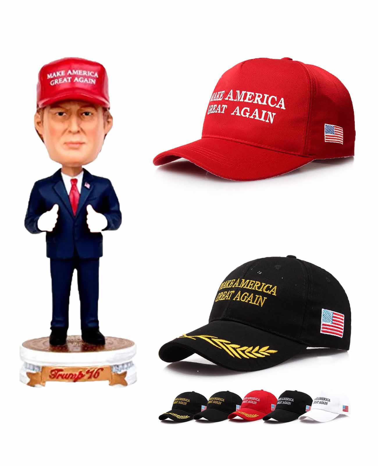fc22fe2f9 New Trump Hat Letter Print Make America Great Again Cap for USA President  Fans Caps 17 Style Black Red White Blue Hats