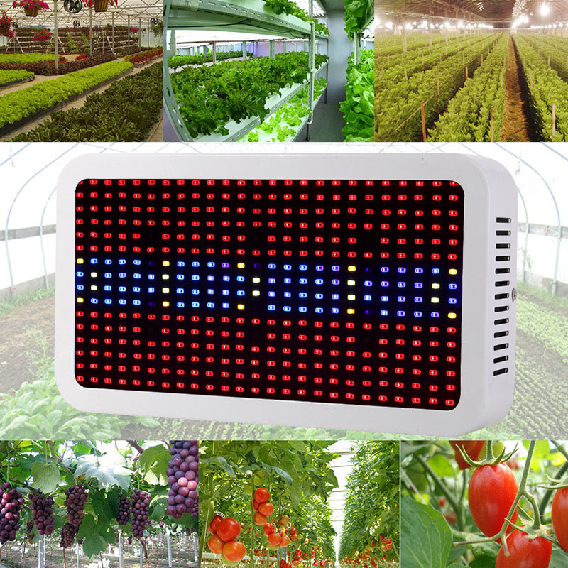 Full Spectrum Led Grow Light 400W Grow Lights Indoor Plant Lamp for Plants Flower Greenhouse Grow Box/Tent Bloom periche оттеночное средство для волос золотой periche cyber color milk shake golden 652466 100 мл