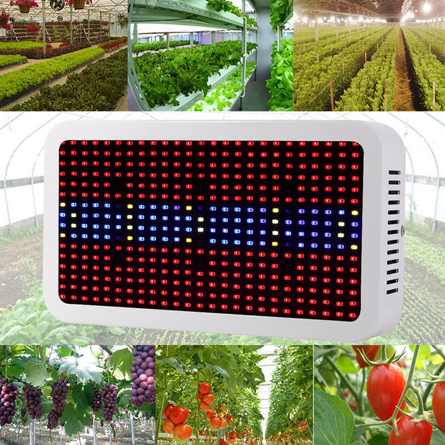 full spectrum led grow light 400w grow lights indoor plant lamp for plants flower greenhouse grow boxtent bloom