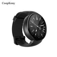 Coopkony 4 г Android 7,0 Смарт часы смартфон Smartwatch gps WI FI Камера ПЗУ 16 г Оперативная память 1 г сердце скорость трекер sim карты Phonewatch