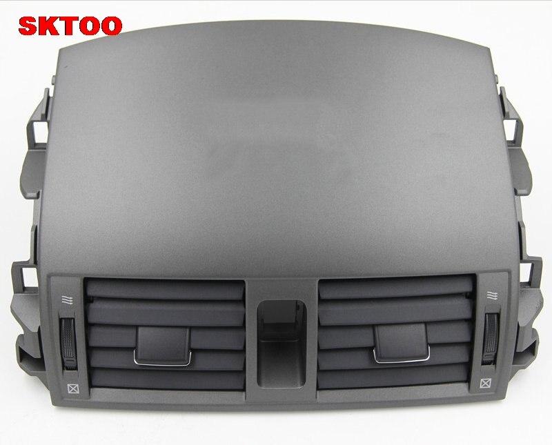 Sktoo peças de carro centro instrumento ar condicionado saída painel ventilação bocal de ar para toyota camry 2007 2013 modelos