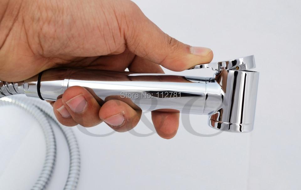 Гарантия качества(твердая латунь)! Ручной кран из хромированной латуни Shattaf Bidets A2015