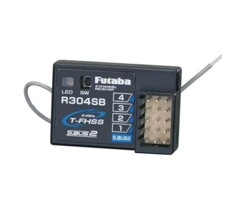 Futaba R304SB FHSS 4 canaux récepteur de télémétrie FUTR304SB pour Futaba 4pls 4px 3pv RC pièces de voiture