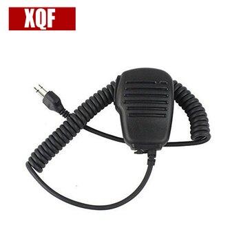 XQF 10PCS Speaker Mic for ICOM IC-F3 F4 IC-F10 IC-F20 IC-V82 IC-W32A IC-W32E IC-T7H IC-T2H Radio фото