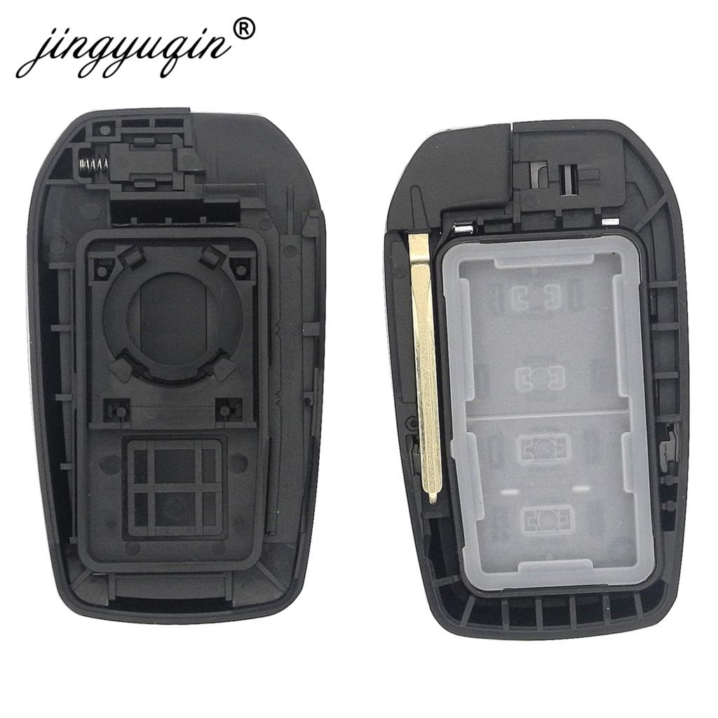 Image 4 - jinyuqin 2/3/4 Buttons Remote Key Fob Shell For Toyota Fortuner Prado Camry Rav4 Highlander Crown Smart Keyless Case Housing-in Car Key from Automobiles & Motorcycles