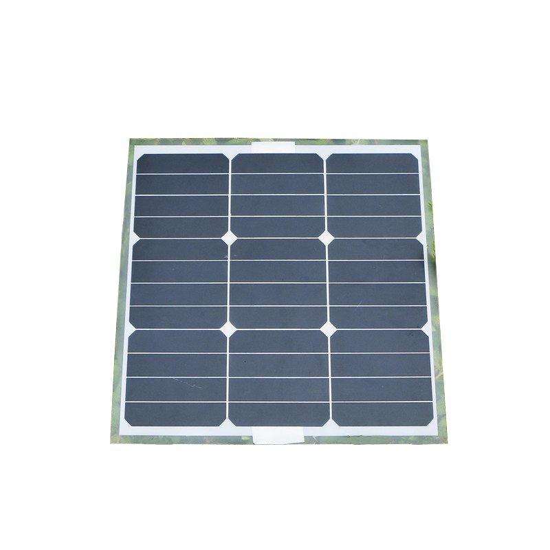 ФОТО Universal Elfeland 30W 18V Mono Solar Panel Aluminum Plate Monocrystalline Pro for Battery Charger Caravan Outdoor+Sunpower Chip