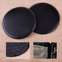 2pcs Plastic Black Door Loud Speaker Cover Grill Fit For VW Passat Jetta Golf 3B0868149 3B0