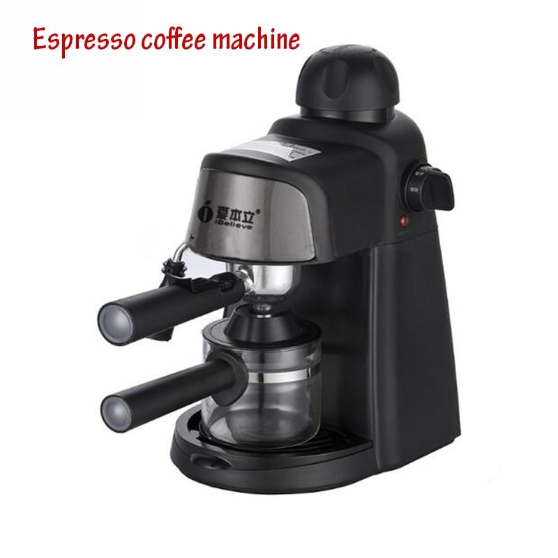 Semi-Automatic Coffee Maker  Italian American Coffee Machine  5bar Pump Pressure  Milk Foam Coffee Machine CM6810 italy espresso coffee machine semi automatic maker cup warming plate kitchen