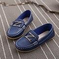 Весна лето дети один обувь дети кожа обувь мальчики школа лежа обувь мокасины дети кроссовки