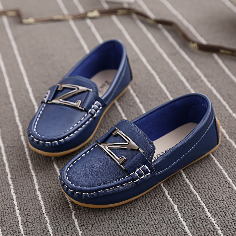 2015Spring summer children single shoes kids leather shoes boys school flat shoes loafers kids fashion sneakers ...