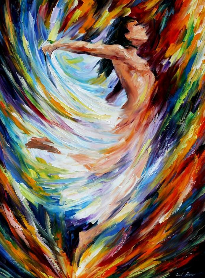 Beautiful Painting Home Decor Angel Flight Colorful Oil Paintings Canvas  Abstract Modern Fine Art High Quality Hand Painted In Painting U0026  Calligraphy From ...