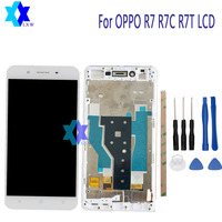 5 0 For Original For OPPO R7 R7C R7T LCD Display And Touch Screen Screen Digitizer