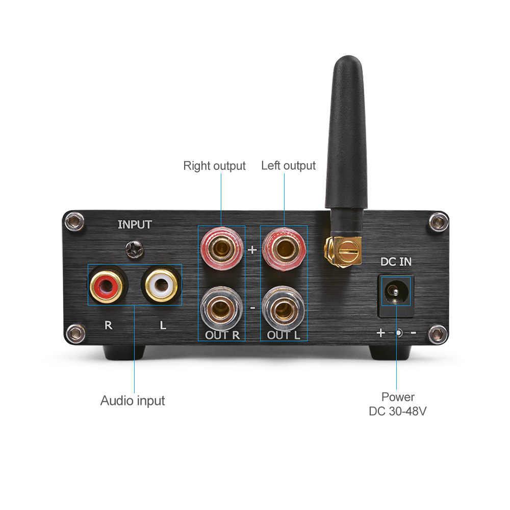 AIYIMA TPA3255 Bluetooth 4,2 высокомощный HIFI цифровой аудио усилитель класса D 2,0 канал 300 Вт + 300 Вт усилитель для домашнего кинотеатра