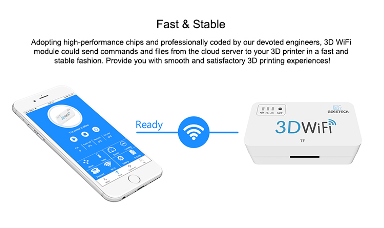 Geeetech 3D WiFi Module Box For 3D Printers 4