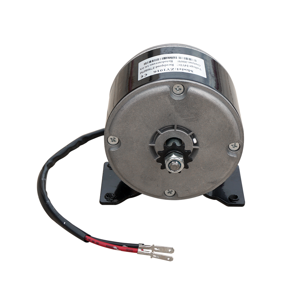 DC 24V 16A Permanent Magnet Motor Generator 300W for Electric equipment with gear 40w 50w hand cranked generator dc small generator 12v 24v permanent magnet dc motor dual use