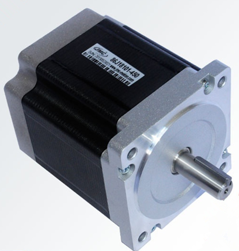 цена на Nema 34 2phase 6.0N.m 850ozf.in stepper Motor 86mm frame 12.7mm shaft 86J18101-450 JMC
