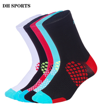 DH SPORTS Brand Cycling Socks Men Women Outdoor Running Footwear Bicycle Socks Quality Riding Bike Compression Sock Wholesale