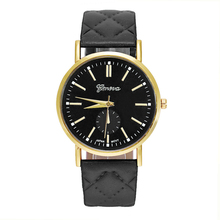 Glorious High quality Relojes Mujer Geneva Quartz-Watch Ladies Informal Wristwatch Clocks Males Leather-based Band Watches Relogio Masculino