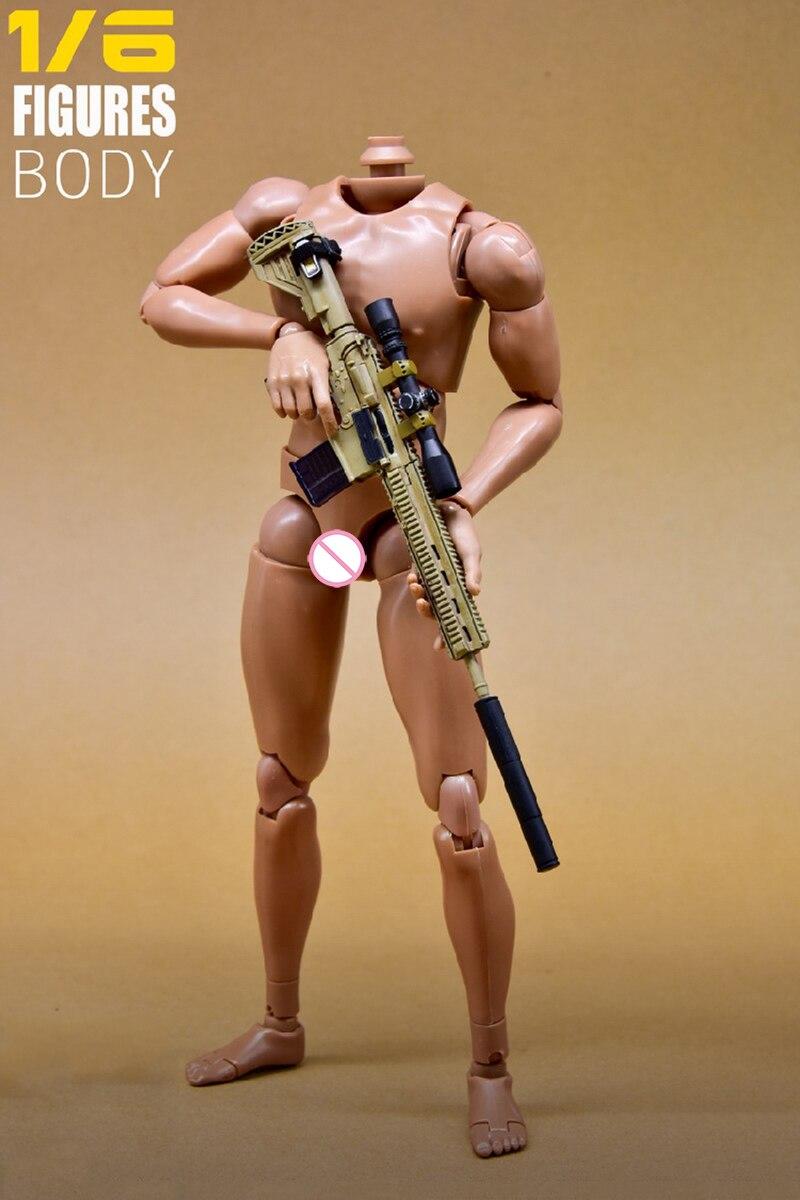 1//6 Action Figure Nude Body /& Hand Accessory pour les jouets très chauds