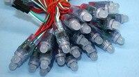 Светодиодный модуль WS2811 50 шт. СВЕТОДИОДНЫЙ полноцветный пикселей DC5V 12 мм модуль IP68 водонепроницаемый огни рекламы