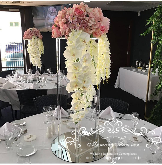 Flowers For Wedding Table Centerpieces: Aliexpress.com : Buy Acrylic Floor Vase Clear Flower Vase