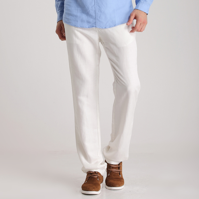 498e5e89e44 men s linen trousers flax men dress pants men trousers casual mens trousers  pants mens pants casual fashion men summer pants