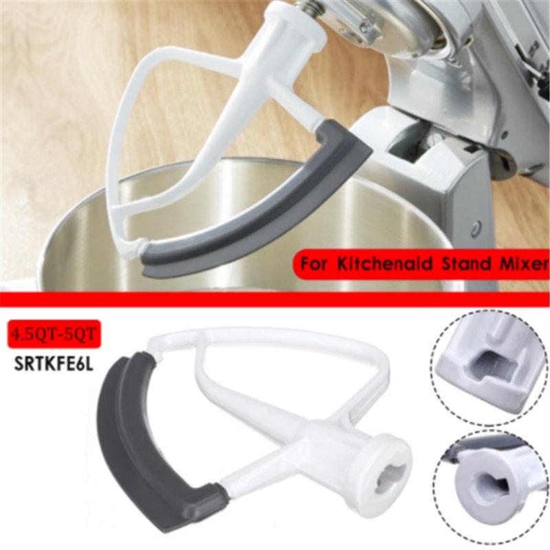 1pc Tilt-Head Flex Edge Parts 4.5-5QT(5L) For KitchenAid KFE6L Tilt-Head Stand Mixers Professional