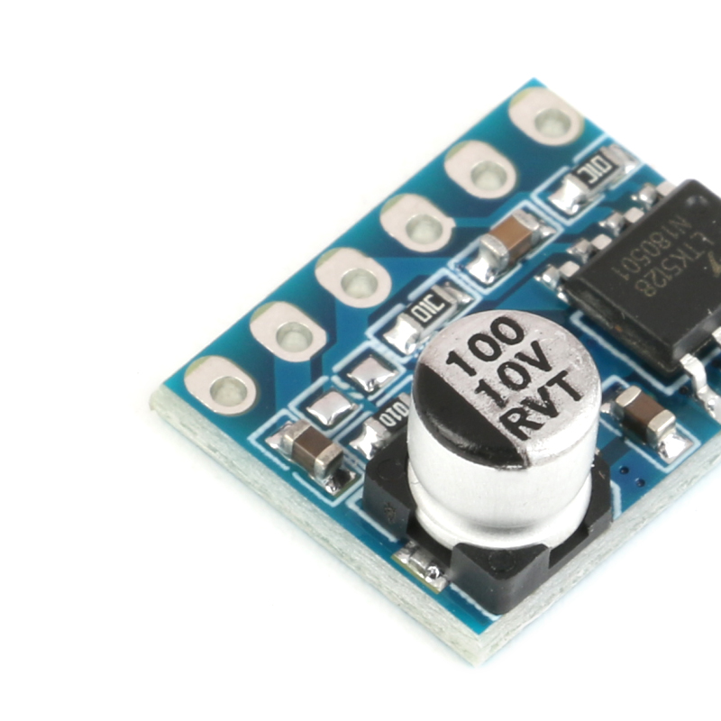 5128 Digital Amplifier Board Class D 5W Mono Audio Amplifier Module Low Distortion Single Power Supply (6)