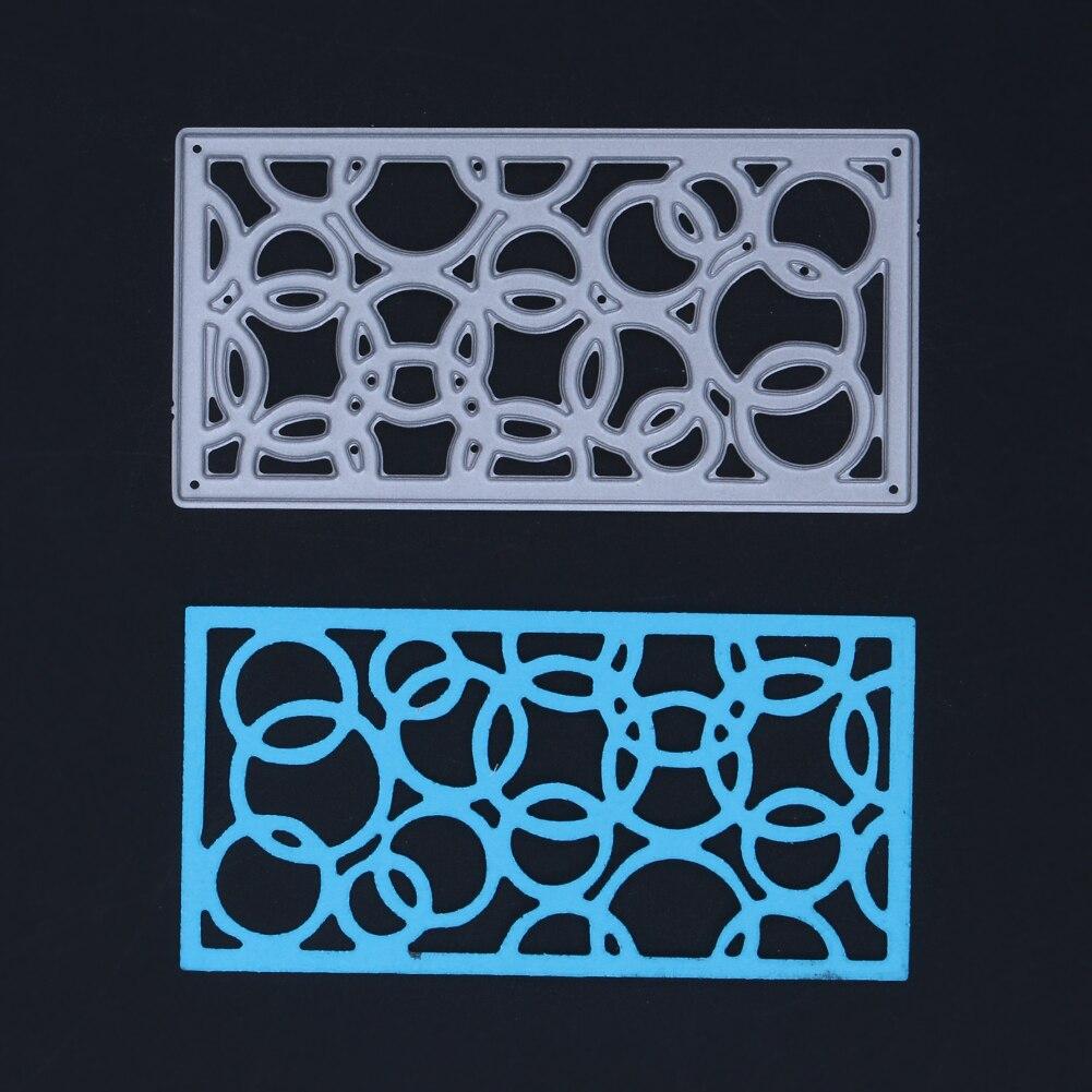Kreis Fensterrahmen DIY Metall Schneiden Sterben Stickerei Schablone ...