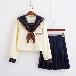 Nuovo Arrivo Giapponese Scuola Uniforme Ragazze Classico Servizio di Inghilterra Coreano di Alta Scuola Delle Donne Vestiti Alla Marinara di Laurea Uniforme