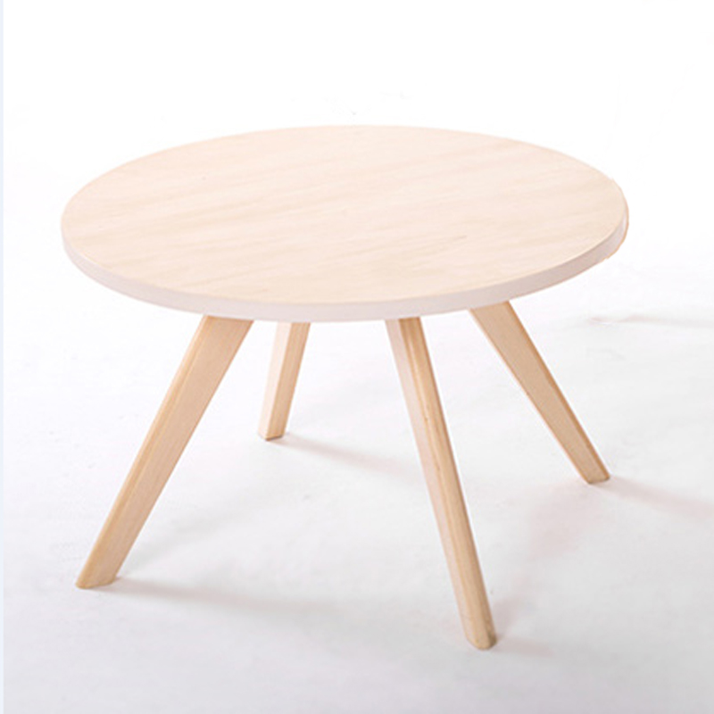 Aliexpress Com Buy Round Wooden Coffee Table Dia60 Cm Beech Wood From Reliable Wood Bending Suppliers On Qiyuchairs