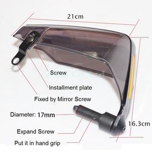 Image 3 - LMoDri Motorcycle Hand Guard Handguard Shield Windproof Motorbike Motocross Universal Protector Modification Protective Gear