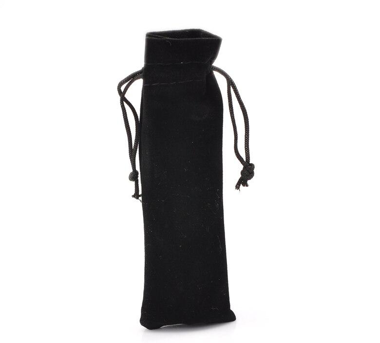 Drawstring Pouches Gift-Bags Jewelry Velvet Black Doreen-Box Hot-10pcs X2 B21976 1/8-