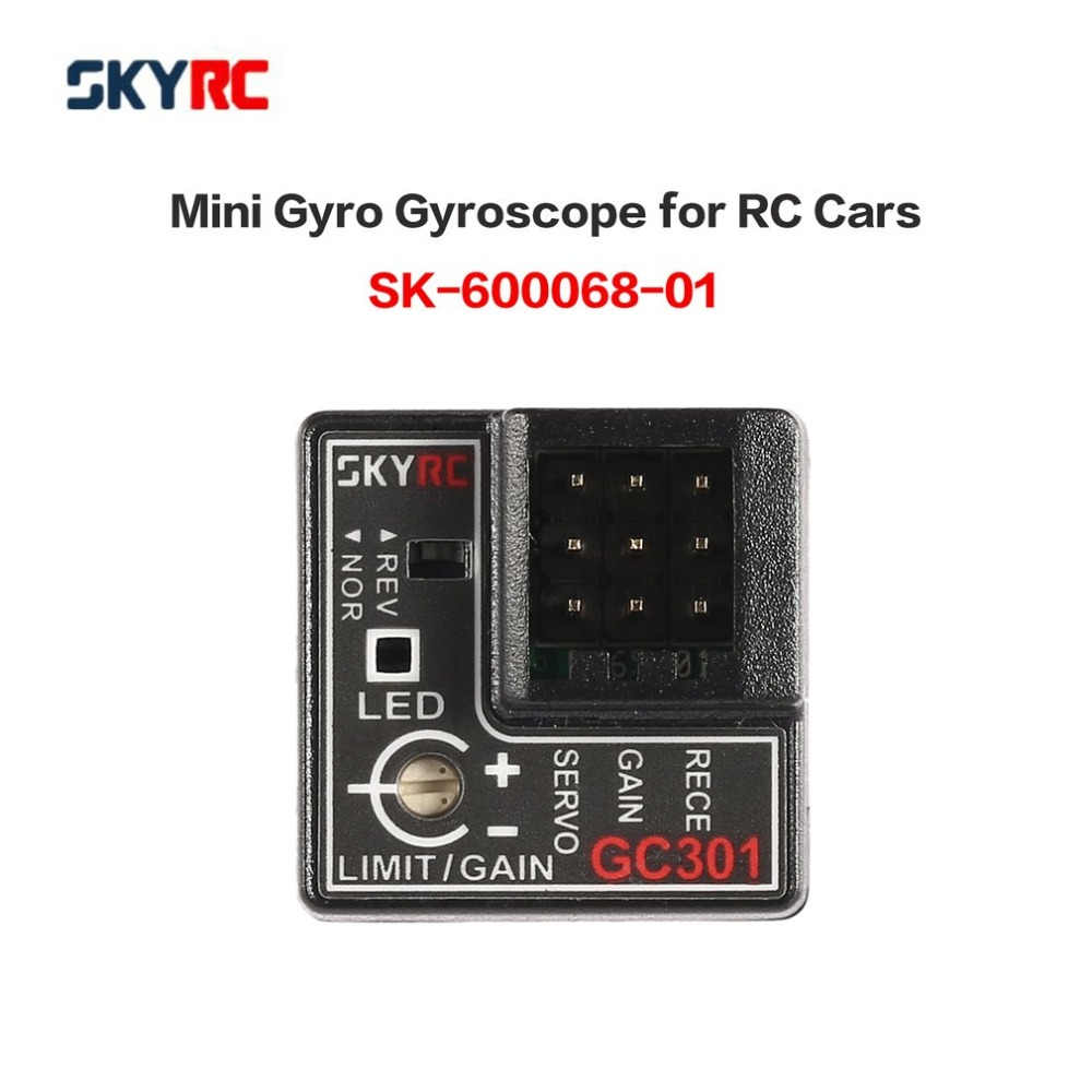 Original SKYRC GC301 Mini Gyro Gyroscope For RC Car Drift Racing Car Steering Output Integrated Compact Light-weight Design