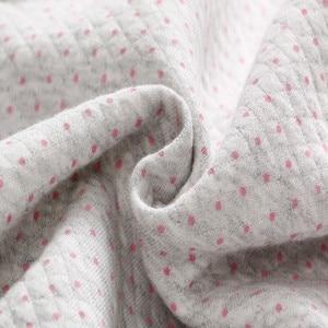 Image 4 - Vlinder 2018 Nuovo 3 pz Baby Set Infantile Neonate Primavera Vestiti di autunno Maniche Lunghe A Righe Tuta Gatto Maglia Comoda Del Bambino collant