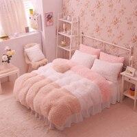 Фланель короткой плюшевой постельные принадлежности Постельное белье Duvet активности постельного белья супер King 13 Размеры, Стёганое одеяло