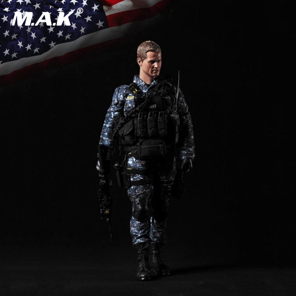 1:6 Scale US NAVY Soldier Fulls Set Figure The Last Ship Movable Action Figure Model Toys for Collection 1:6 Scale US NAVY Soldier Fulls Set Figure The Last Ship Movable Action Figure Model Toys for Collection