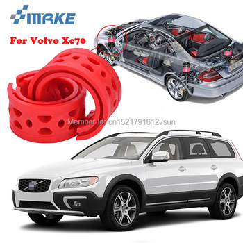 smRKE For Volvo XC70 High-quality Front /Rear Car Auto Shock Absorber Spring Bumper Power Cushion Buffer