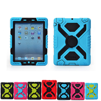 Pepkoo Cover For Ipad Mini 3 2 1 Cases Spider Extreme Military Heavy Duty Waterproof Dust