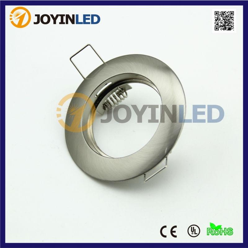10x Under Cabinet Halogen Bulb Fitting Frames MR16 GU10 LED Spotlight Fixture Trim Kits