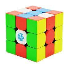 Gan 354 Магнитный 3x3x3 магический куб Stickerles Gan 354 м головоломка скоростной куб для WCA Professional Cubo Magico Gan354 м игрушки