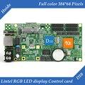 HD-D10 lintel assíncrona 4 * HUB75 interface de dados RGB full color display led cartão de controle